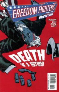 Freedom Fighters #3 (2010)