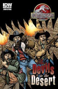 Jurassic Park: The Devils in the Desert #1 (2011)