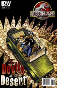 Jurassic Park: The Devils in the Desert #2 (2011)