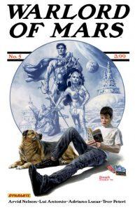 Warlord of Mars #5 (2011)