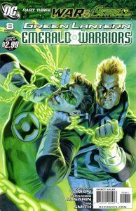 Green Lantern: Emerald Warriors #8 (2011)