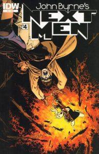 John Byrne's Next Men #4 (2011)
