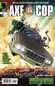 Axe Cop: Bad Guy Earth #1 (2011)