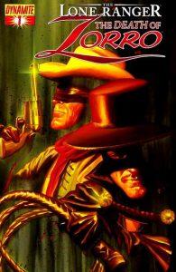 Lone Ranger & Zorro: The Death of Zorro #1 (2011)