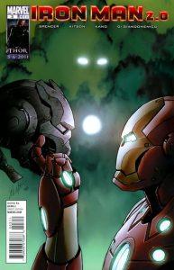 Iron Man 2.0 #3 (2011)