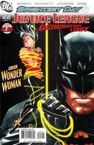 Justice League: Generation Lost #22 (2011)