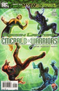Green Lantern: Emerald Warriors #9 (2011)