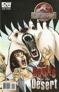Jurassic Park: The Devils in the Desert #4 (2011)