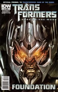 Transformers: Foundation #3 (2011)