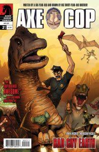 Axe Cop: Bad Guy Earth #2 (2011)