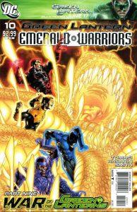 Green Lantern: Emerald Warriors #10 (2011)