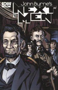 John Byrne's Next Men #6 (2011)
