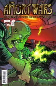 The Amory Wars in Keeping Secrets of Silent Earth: 3 #11 (2011)