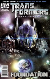 Transformers: Foundation #4 (2011)