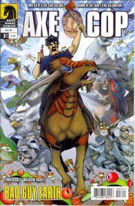 Axe Cop: Bad Guy Earth #3 (2011)