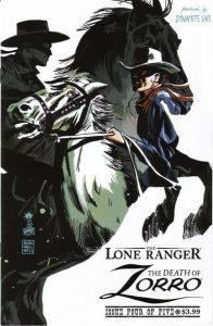 Lone Ranger & Zorro: The Death of Zorro #4 (2011)