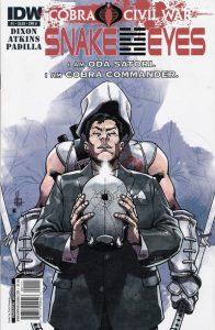 G.I. Joe: Snake Eyes #1 (2011)