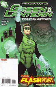 FCBD 2011 Green Lantern Flashpoint Special Edition #1 (2011)