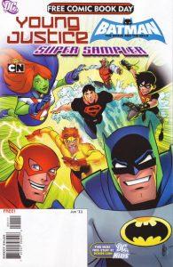 FCBD 2011 Young Justice Batman BB Super Sampler #1 (2011)