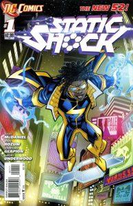 Static Shock #1 (2011)
