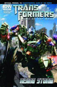 Transformers: Rising Storm #4 (2011)