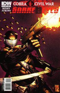 G.I. Joe: Snake Eyes #2 (2011)