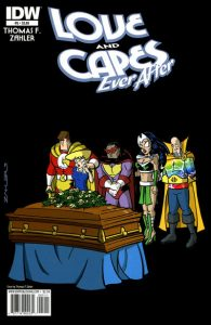Love and Capes: Ever After #5 (2011)
