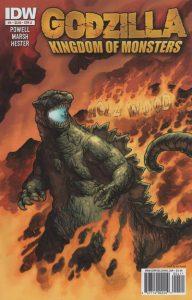 Godzilla: Kingdom of Monsters #4 (2011)