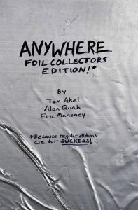 Anywhere Season 1 Foil Collector's Edition Because Regular Editions Are for Suckers #1 (2011)