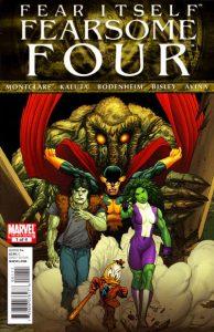Fear Itself: Fearsome Four #1 (2011)