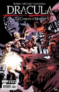 Dracula: The Company of Monsters #11 (2011)