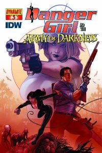 Danger Girl and the Army of Darkness #3 (2011)