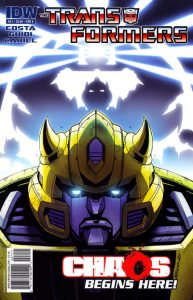 The Transformers #21 (2011)