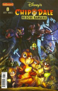 Chip 'n' Dale Rescue Rangers #8 (2011)