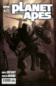 Planet of the Apes #4 (2011)