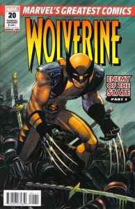 Wolverine: Enemy of the State MGC #20 (2011)