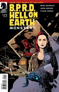 B.P.R.D. Hell on Earth: Monsters #1 [80] (2011)