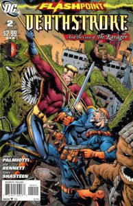 Flashpoint: Deathstroke & the Curse of the Ravager #2 (2011)