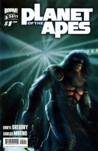 Planet of the Apes #5 (2011)