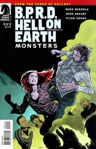 B.P.R.D. Hell on Earth: Monsters #2 [81] (2011)