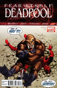 Fear Itself: Deadpool #3 (2011)
