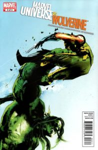 Marvel Universe vs. Wolverine #3 (2011)