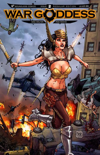 War Goddess #2 (2011)