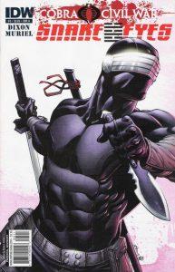 G.I. Joe: Snake Eyes #5 (2011)