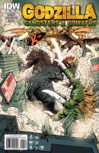 Godzilla: Gangsters and Goliaths #4 (2011)