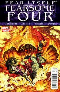 Fear Itself: Fearsome Four #4 (2011)