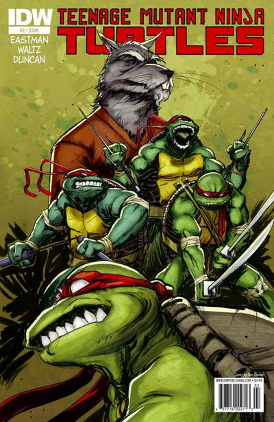 Teenage Mutant Ninja Turtles #2 (2011)