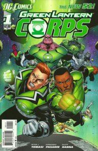 Green Lantern Corps #1 (2011)