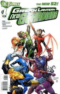 Green Lantern: New Guardians #1 (2011)