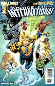 Justice League International #1 (2011)
